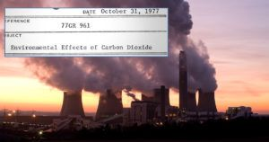 exxon knew about climate change
